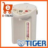 【送料無料】タイガー魔法瓶VE電気まほうびん「とく子さん」3LベージュPIF-A300C