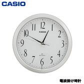 【送料無料】カシオ クロック IQ-1060J-7JF [電波掛け時計 プラ枠]