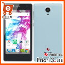 【送料無料】freetel FTJ152A-Priori3-MT [FREETEL Priori3 LTE ミントブルー]