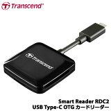【送料無料】トランセンドTS-RDC2K[OTG対応USBType-C接続カードリーダー]