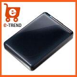 【送料無料】バッファローHD-PNT1.0U3-BC[ターボPCEX2対応耐衝撃&自動暗号化機能搭載USB3.0用ポータブルHDD1TBブラック]