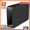 1位:【送料無料】バッファロー HD-LC2.0U3-BK [USB3.0 外付けハードディスク 2TB ブラック]