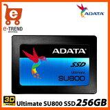 【送料無料】ADATAASU800SS-256GT-C[256GBSSDUltimateSU8002.5インチSATA6GTLC(3DNAND)7mm]