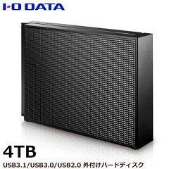 【送料無料】アイオーデータEX-HD4CZ[USB3.0/2.0対応外付ハードディスク4TBブラック]