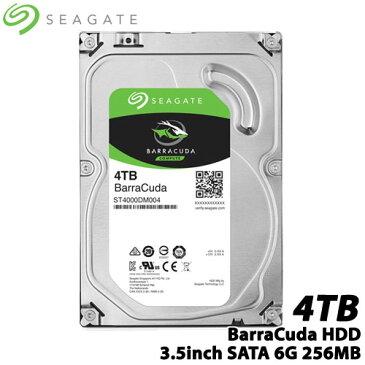 SEAGATE ST4000DM004 [BarraCuda(4TB HDD 3.5インチ SATA 6G 256MB)]