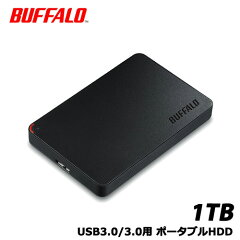 【送料無料】バッファローHD-NRPCF1.0-BB[USB3.0ポータブルHDD1TBBUFFALOバッファロー]