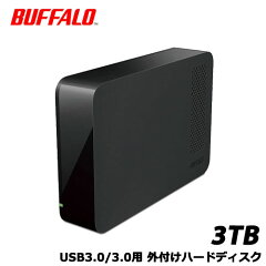 【送料無料】バッファローHD-NRLC3.0-B[USB3.0外付けハードディスク3TBBUFFALOバッファロー]