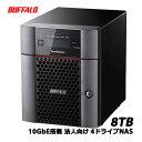BUFFALO TeraStation TS5410DN0804 [10GbE 法人向け 4ドライブNAS 8TB] 1