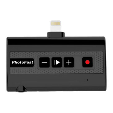 PhotoFast Call Recorder X [iPhone X対応 電話レコーダー Lightning、3.5mmジャック、Micro SDカードリーダー搭載]