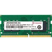 トランセンドJM2666HSB-8G[8GBJetRamDDR42666SO-DIMM1Rx8(1024Mx8)CL191.2V]