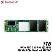 トランセンドTS1TMTE220S[1TBPCIeSSD220SM.2(2280)、NVMePCIeGen3x4、3DTLC、キャッシュ512MB、5年保証]
