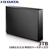 アイオーデータHDCZ-UTL3K/E[USB3.1Gen1(USB3.0)/2.0対応外付ハードディスク3TB]