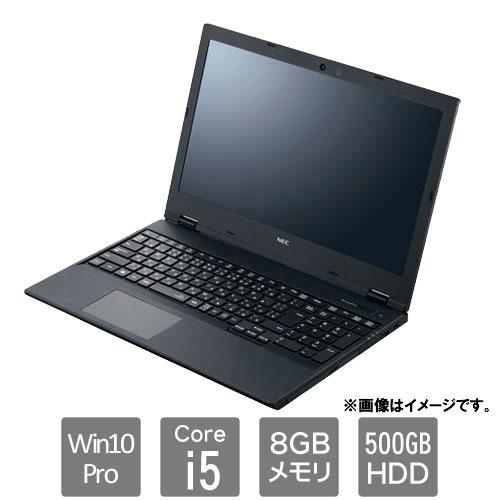 パソコン, ノートPC VersaPro PC-VRT16FBGS3R6 VF(i5-8265U 8GB 500GB 15.6 Win10 Pro)