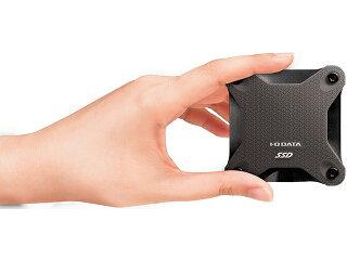 アイオーデータSSPH-UT960K/E[USB3.1Gen1(USB3.0)/2.0対応ポータブルSSD960GBスモーキーブラック]