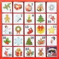 English Tea Shopスペシャルブレンド フレーバーティークリスマス カレンダー アドベントカレンダー オーナメント送料無料 フェアトレード イングリッシュティーショップ