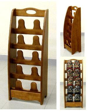 木製のスリッパスタンド5段(SR-2705)3.0kg
