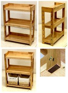 木製の棚(背板のないタイプ) ナチュラル色高さ58 幅44 奥行19 4.6kg[ミニシェルフ MS-5844]