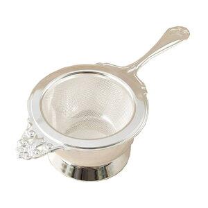 『ヌーブルティーストレーナー シルバー (400812)』【日本製 ストレーナー 茶こし ティータイム 食器 紅茶 キッチン】