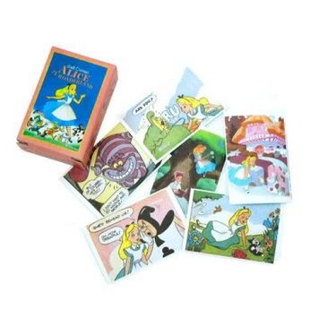 『マッチボックス ラベルステッカー ディズニー アリス ONB2』【Disney デコシール シール 不思議の国のアリス キャラクターグッズ】【メール便 (ゆうパケット) 対応】