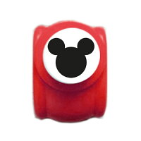 『ディズニーパンチミッキーM』<クラフトパンチ>【Disneyミッキー文房具型抜きデコレーションアルバム作り】