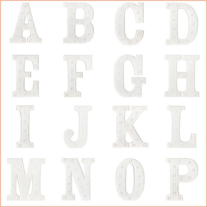 【在庫処分セール】『アメリカンクラフト マーキーレター 10インチ 【C】』[American Crafts]【Marquee ライト DIY ウェディング アルファベット 文字 結婚式 パーティー インテリア 雑貨 マーキーライト】