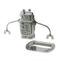 【ポイント10倍】『ロボット ティーインフューザー』【TEA&COFFEE キッチン雑貨 キッチン用品 茶こし 茶漉し ストレーナー ティーストレーナー お茶 雑貨 カフェ】【メール便 (ゆうパケット) 対応】