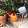 H2O エイチツーオー おしゃれ かわいい ジョウロ ジョーロ 水やり 100% イタリア製 POS DESIGN 観葉植物 手入れ 2.5 リットル L プラスティック 自立 軽量 耐久性 機能性 ガーデニング YOUは何しに ショッピング