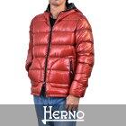 【エントリーでさらに全品ポイント10倍】 ヘルノ リバーシブル ダウンジャケット HERNO PI0520U 19328 6600 レッド 【メンズ】