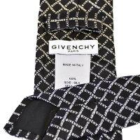 ジバンシー ネクタイ GIVENCHY J1705 1 ブラック メンズ ギフト プレゼント 仕事 フォーマル ビジネス 入学祝い 就職祝い