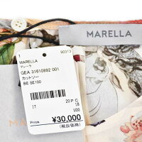 マレーラ シルク プリント カットソー MARELLA GEA 31610892 001 ベージュ