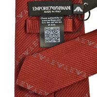 エンポリオアルマーニ ネクタイ EMPORIO ARMANI 9P618 00074 レッド 8.5×146 ギフト プレゼント
