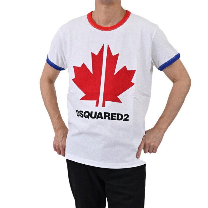 トップス, Tシャツ・カットソー  T DSQUARED2 S74GD0695 S22507 T-shirt VERY VERY DAN FIT Stampa