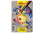 Bruynzeel ブリンツィール 水彩色鉛筆 12色〜オランダ、Bruynzeel社の水で溶かして水彩のような表現ができる水溶性の色鉛筆です。