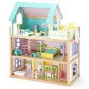 【代引手数料・送料無料】【MT-3363N】[Mentari Toy メンタリトーイ]木製モダンドールハウス ...