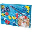 SES セス バスフィッシング〜オランダ・SES(セス)のお風呂場で魚釣りが楽しめるフィッシングゲームセット。水の力でお魚たちがくっつきます。