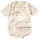 [メール便可] NAOMI ITO ナオミイトウ POCHO 短肌着&ブルマー トイ(ホワイト)〜NAOMI ITOの柔らかなダブルガーゼ生地の短肌着とブルマのセット。男の子・女の子問わない柄なのでご出産祝いにもオススメです!