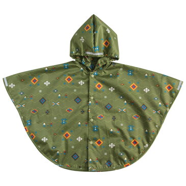 [メール便可] BOBO ボボ スピリット ポケッタブル レインポンチョ〜BOBOの生地に耐久撥水加工を施した、雨や風から赤ちゃんを守るレインポンチョ(レインコート)です。