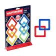 BorneLund ボーネルンド マグフォーマー 正方形セット 6ピース〜人気の幾何学マグネットブロック『マグ・フォーマー』!プラス1で遊びが広がる追加パーツシリーズ。
