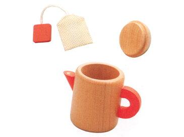 Ed.inter エドインター 木のままごとあそび ティーポット〜エドインターの木製のおままごと用食器です。