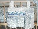 Ficelle フィセル - SOULEIADO ソレイアード プティット・フルール・デ・シャンベッドサイドポケット〜SOULEIADOのベビー用品。ベビーベッドの柵に取り付ける事ができる収納ポケットです。