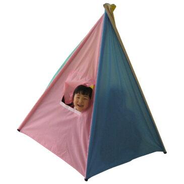 一歩社 はじめしゃ インディアンテントハウス〜一歩社(はじめしゃ)の子どもたちの心も体もリラックスさせてくれる安全教具。子どもたちが中で遊べる室内用プレイテントです。