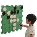一歩社 はじめしゃ 白黒ゲーム(壁面タイプ)〜一歩社(はじめしゃ)の壁を使った遊びが楽しめるEVAスポンジ製のおもちゃ・遊具。壁にくっつけて使える白黒ゲームです。 1
