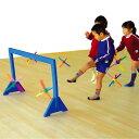 一歩社 はじめしゃ カラフルキックボール〜一歩社(はじめしゃ)のお子さまの運動や運動会にオススメのおもちゃ・遊具。サッカーのようにゴールに入れるゲームが楽しめます。