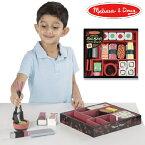 Melissa & Doug メリッサ&ダグ 木製 すしセット 木のおままごと 3歳、4歳の男の子、女の子のお誕生日プレゼントやクリスマスプレゼントにおすすめ。アメリカの大手玩具メーカーMelissa & Doug(メリッサ&ダグ)の木製のおままごと用玩具(おもちゃ)です。