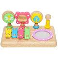 子供用,楽器,カスタネット,ギロ,マラカス,木琴,太鼓,赤ちゃんのおもちゃ,木のおもちゃ,木製玩具,Laby,ラビー