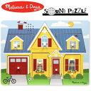 [メール便可] Melissa & Doug メリッサ&ダグ 木製サウンドパズル ハウスキーピング〜アメリカの大手玩具メーカー・メリッサ&ダグのロングセラー木製パズルシリーズ。シンプルな機能と知育要素が好評のパズルです!