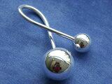 オルゴールボール(メルヘンクーゲル)メルヘンラトル キーホルダー 25mm・16mm〜聞く人の心身を癒すオルゴールボール(メルヘンクーゲル)のラトル(ガラガラ)タイプです。