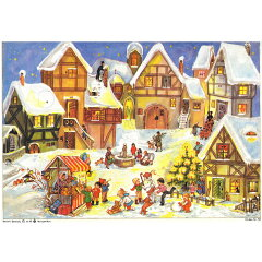【メール便可】【RS58】【クリスマスアイテム】ドイツ製アドベントカレンダー 煙突掃除~クリス...