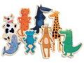 動物のマグネット,DJECO,ジェコ,デ,フランスの木のおもちゃ,