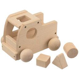 平和工業 Mocco モッコ 森のメロディートラック(ミッキーマウスマーチ)〜日本製の木のおもちゃMocco(モッコ)シリーズ。メロディーカーにパズルを組み合わせた『メロディーパズルカー』です。